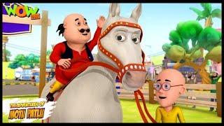 Circus Ka Ghoda - Motu Patlu in Hindi - 3D Animation Cartoon for Kids - As seen on Nickelodeon width=