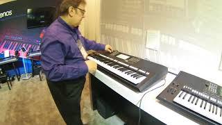 NAMM 2018 - Yamaha PSR S975 and S775 Arranger Keyboards