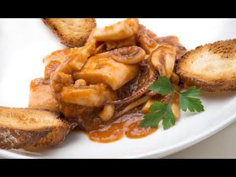 Receta de calamares en salsa roja - Karlos Arguiñano