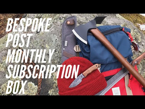 FIRST LOOK at the Bespoke Post Monthly Subscription Box: Axe, Nata Machete, Backpack and More