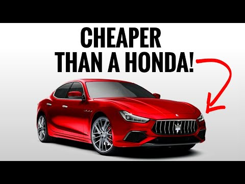 7 CHEAP Luxury Cars That TRICK People Into Thinking They're Expensive!