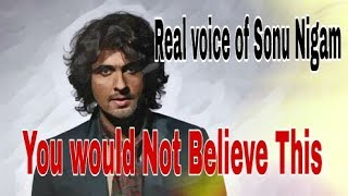 Sonu Nigam singing songs  without any musical instrument live....