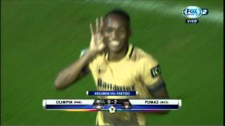 Bridgestone Libertadores: Olimpia 0 vs Pumas 2