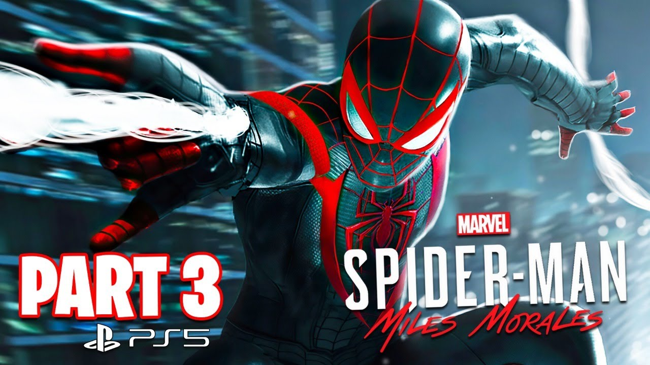 Typical Gamer - Spider Man: Miles Morales PS5 Gameplay Walkthrough, Part 3! (Ending)