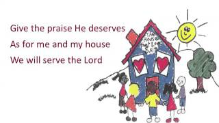 As for Me and My House ~ Heritage Singers ~ lyric video