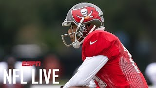 Tim Hasselbeck Sympathizes With Roberto Aguayo Getting Cut On TV | NFL Live | ESPN