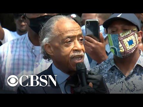 Rev. Al Sharpton speaks about George Floyd's death