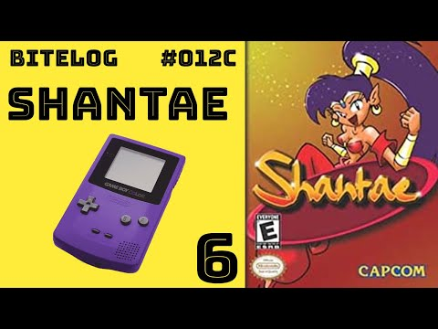 BITeLog 012C.6: Shantae (GAMEBOY COLOR)
