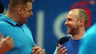 Эйс и серия подач от Алексея Вербова в матче Лиги Чемпионов!