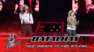 Tiago Baltazar VS Inês Antunes - Do you no wrong | Batalhas | The Voice Portugal
