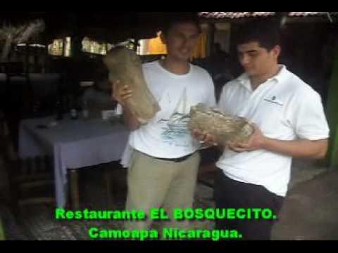 Femur de Dinosaurio, Restaurante el Bosquecito. Camoapa Nicaragua.