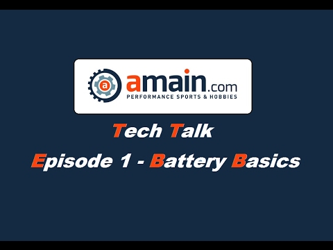 Amain Tech Talk - Episode One:  Common Battery Questions Answered