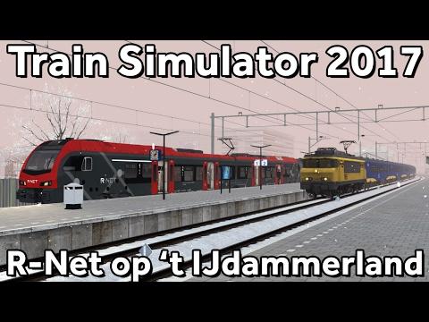 Train Simulator 2017: Kolfmeer - Den Hampen met ChrisTrains R-Net FLIRT