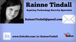 Rainne Tindall; IT Security Specialist