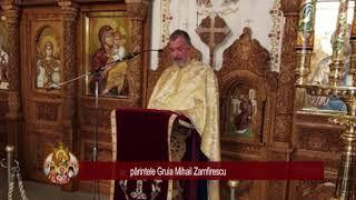 pr. Gruia Zamfirescu - predica la Sf. Cuvios Paisie de la Neamt, slujba vecerniei (14.11.2017)
