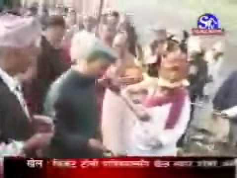 Chobhar_Chaitre dashain celebration, Kirtipur, Kathmandu, Nepal.
