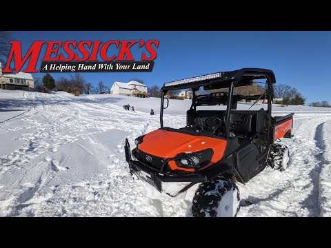 Snow Day with the Kubota Sidekick RTV-XG850 Picture
