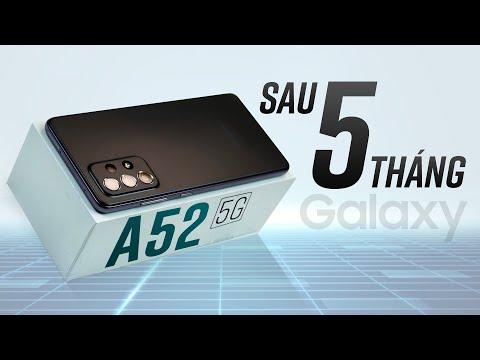 Galaxy A52 5G sau 5 tháng: Hoàn hảo nhất Galaxy A Series!?