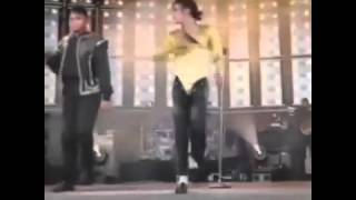 Michael Jackson Dangerous tour live in Oslo snippet Jackson 5 medely