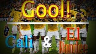Gol - Cali y El Dandee   Selección Colombia  