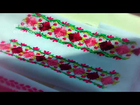 Embroidery: Decorative Stitches|Вышивка:Декоративные стежки|Bordado:Puntadas decorativas
