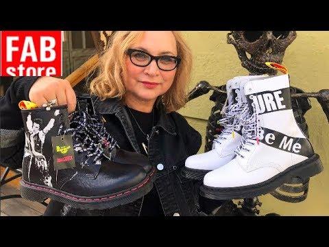 Самая стильная обувь на осень! Выбираю крутые Dr. Martens в FAB store. Тренды обуви — осень 2019