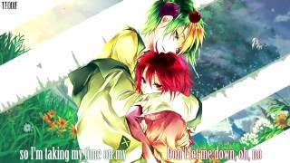 Nightcore - Don't Let Me Down/ Ride (Switching Vocals) [Lyrics]