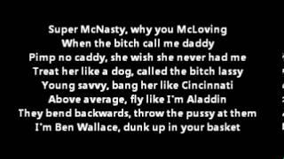 Tyga - Faded Ft. Lil Wayne Lyrics On Screen