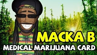 Herbie Meets Macka B - Medical Marijuana Card 2014
