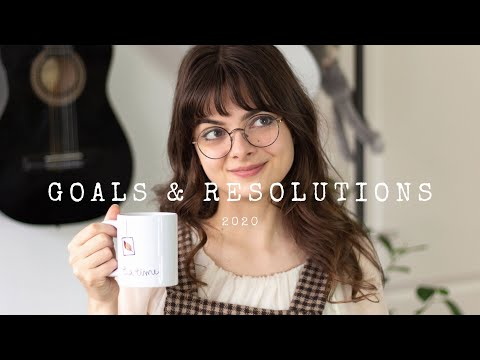 2020 Goals & Resolutions | My Goals & Achievement Tips