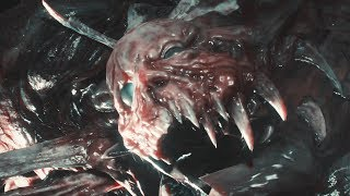 Resident Evil 2 Remake (Claire's Story) - William Birkin Final Form Boss Fight