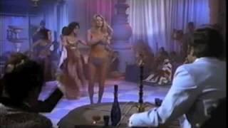 "Blue Fez Belly Dance Scene In ""The Man W Bogart's Face"" Kamala Almanzar"