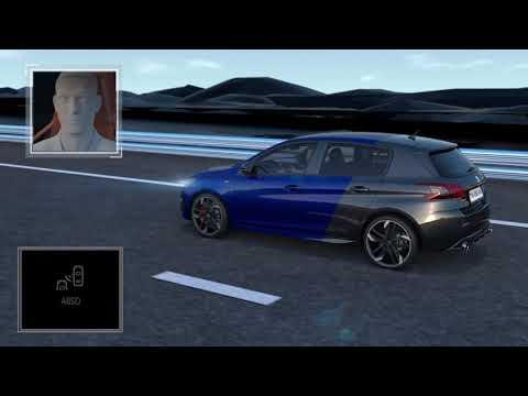 Peugeot 308 - Active blindspot