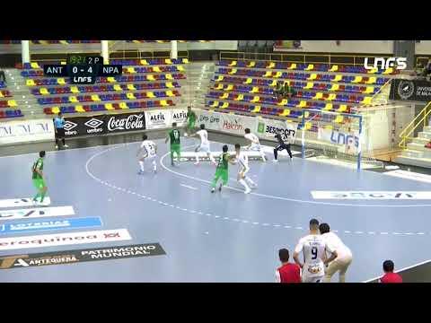 BeSoccer UMA Antequera 1-7 Noia Portus Apostoli Jornada 8 Segunda División Temp 21/22
