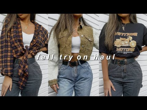FALL / AUTUMN TRY ON CLOTHING HAUL 2019  |  NASTYGAL AD