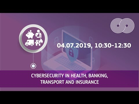 Cybersecurity in health, banking, transport and insurance photo