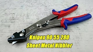 Knipex Sheet Metal Nibbler:  90 55 280
