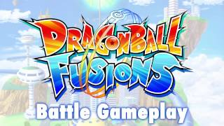 Dragon Ball Fusions - Battle Gameplay Trailer   3DS