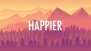Marshmello, Bastille – Happier (Lyrics)  🎵
