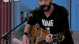 """Pedro Santos ao vivo n'A Praça - António Variações """"Canção do engate"""""""