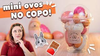 MINI OVOS no COPO - perfeito para DELIVERY! | Tábata Romero