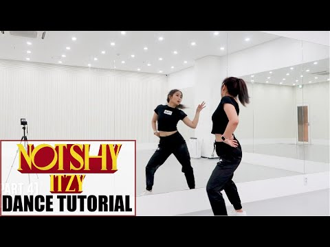 "ITZY ""Not Shy"" Lisa Rhee Dance Tutorial - YouTube"