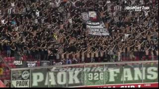 Ajax-PAOK The soldiers of Paok on the road