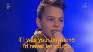 The voice kids G-Mike-Boyfriend (Lyrics)