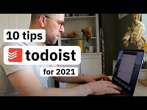 10 Todoist Tips & Hacks for 2021