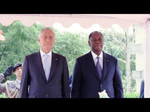 Entretien avec le Président de la République portugaise, S.E.M. Marcelo Rebelo De Sousa