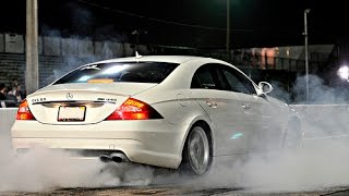 2Pac - Ghetto Dream | Mercedes CLS63 vs Lexus IS-F drift battle Moscow 2017