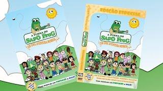 """DVD e CD """"A Turma do Sapo Frog em uma aventura Musical"""""""