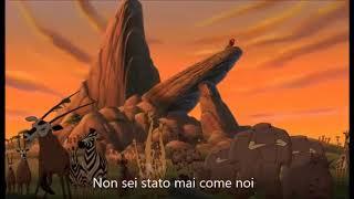 Tu Non Sei Come Noi  [CON TESTO] - Il Re Leone, Il Regno Di Simba