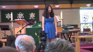 Juliana recital 6 6 2015   People